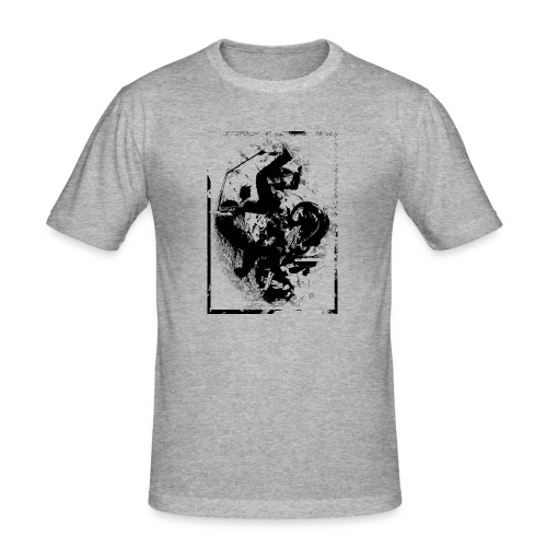 abstract4a - Men's Slim Fit T-Shirt
