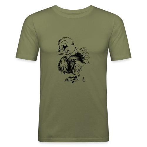 Autruchon - T-shirt près du corps Homme