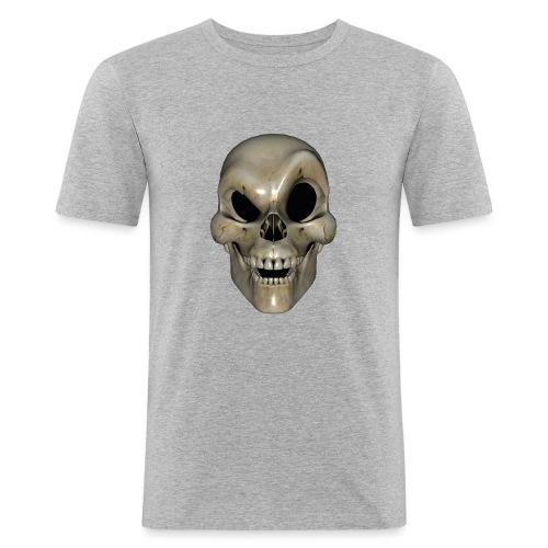 Smart Skull - Slim Fit T-skjorte for menn