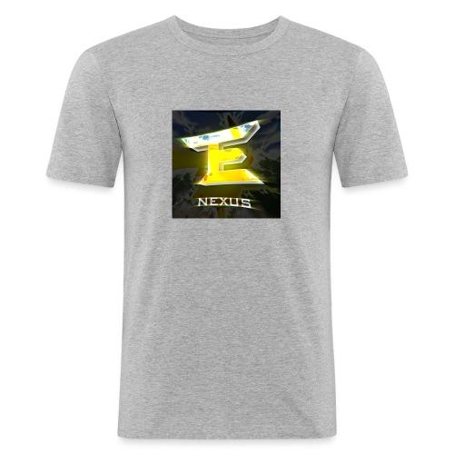 logo nexus - Männer Slim Fit T-Shirt