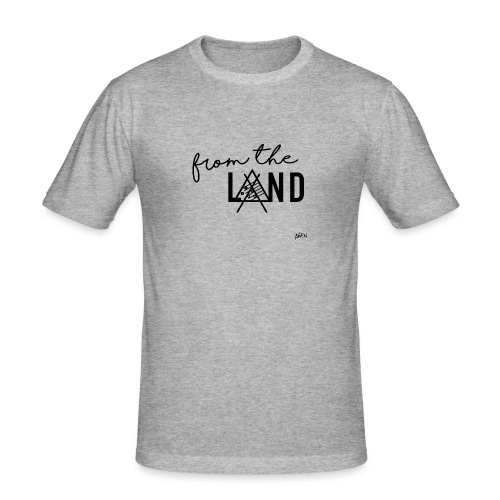 FROM THE LAND // AWEN - Men's Slim Fit T-Shirt