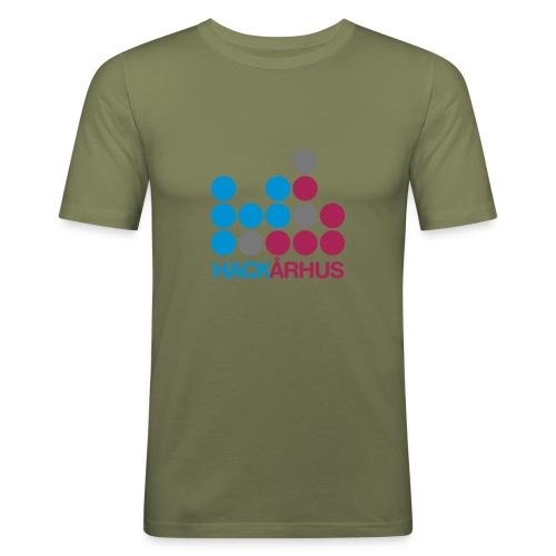 halogo 1 - Herre Slim Fit T-Shirt
