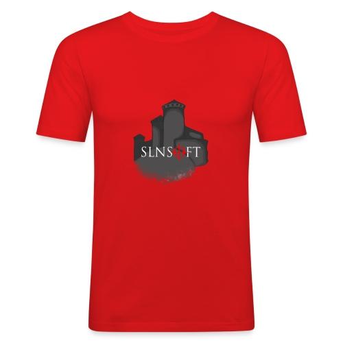 slnsoft - Miesten tyköistuva t-paita