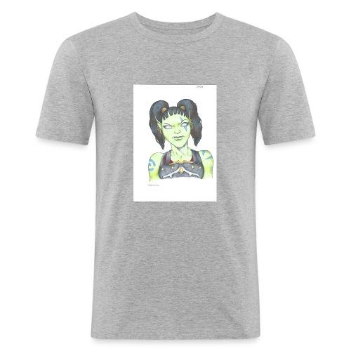 Garona - Slim Fit T-shirt herr