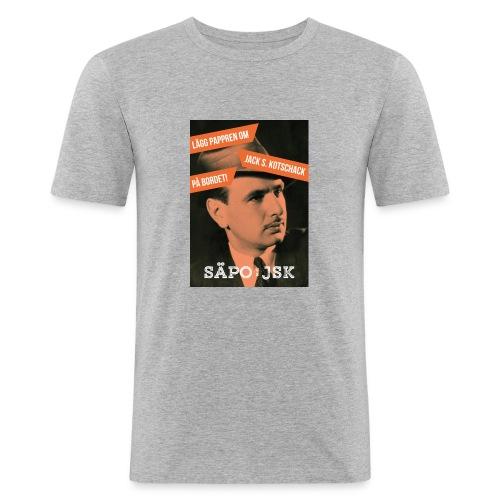 SÄPO mot Jack S. Kotschack - Slim Fit T-shirt herr