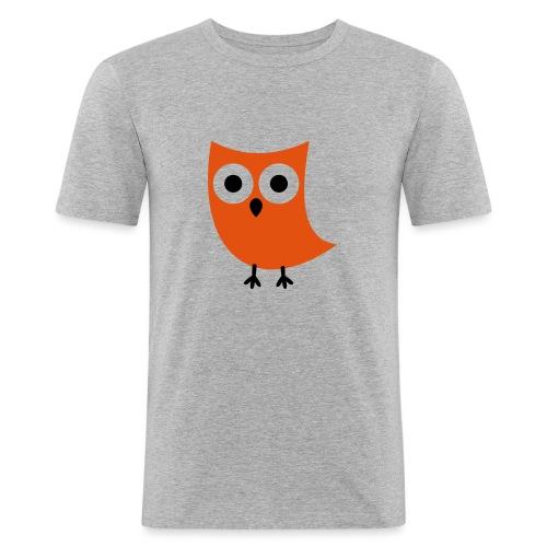 Uiltje - Mannen slim fit T-shirt