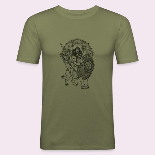 Durga - Männer Slim Fit T-Shirt