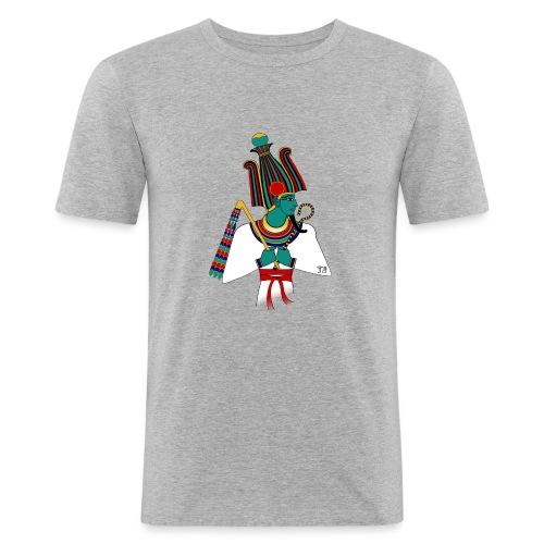 Osiris I altägyptische Gottheit - Männer Slim Fit T-Shirt