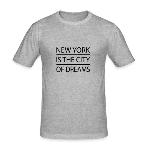 New York City - Men's Slim Fit T-Shirt
