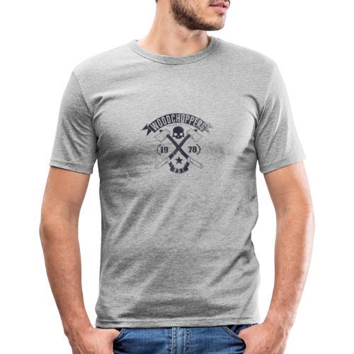 Woodchoppers 1978 - Männer Slim Fit T-Shirt