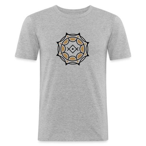 Spirituelles Symbol, Gruß der Lichtarbeiter, Kryon - Männer Slim Fit T-Shirt