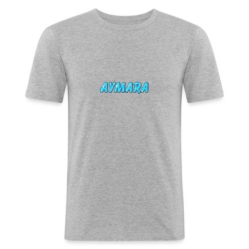 Aymara Logo - Slim Fit T-skjorte for menn