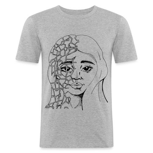Fragile Beauty - Men's Slim Fit T-Shirt