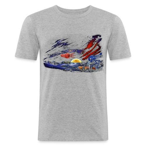 space - Men's Slim Fit T-Shirt