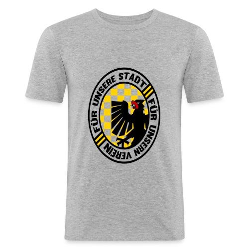 stadtverein png - Männer Slim Fit T-Shirt