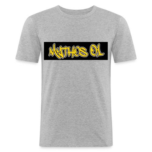 mythosshirt jpg - Männer Slim Fit T-Shirt