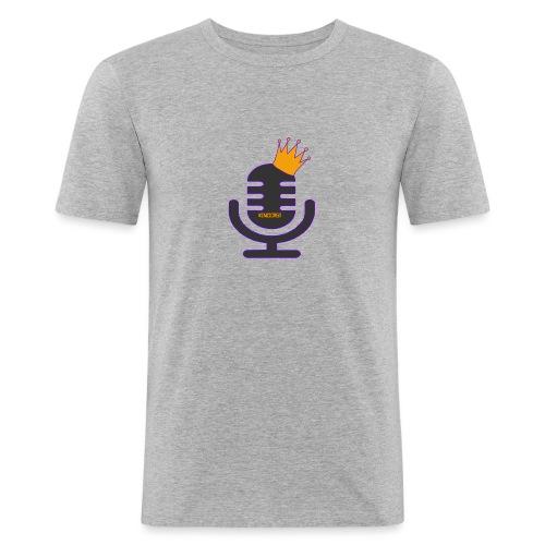 kingcast_logo - Men's Slim Fit T-Shirt