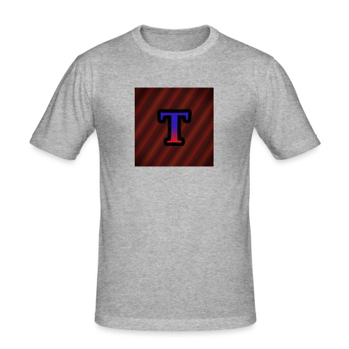 Logo - Mannen slim fit T-shirt