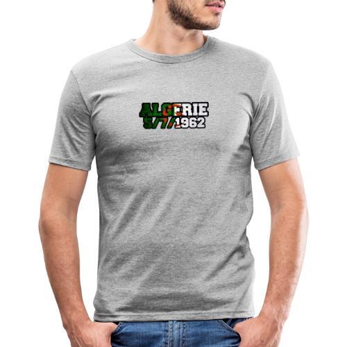 ALGERIE 1962 - T-shirt près du corps Homme