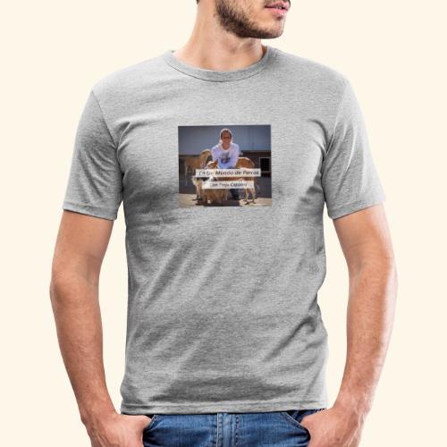 en un mundo de perros con borja capponi - Camiseta ajustada hombre
