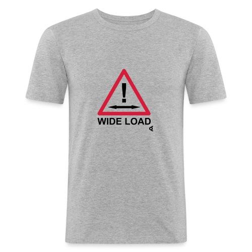 caution wide load - T-shirt près du corps Homme