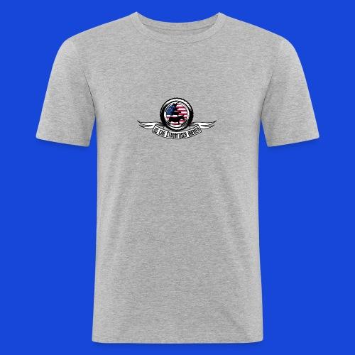 Logo Shirt - Männer Slim Fit T-Shirt