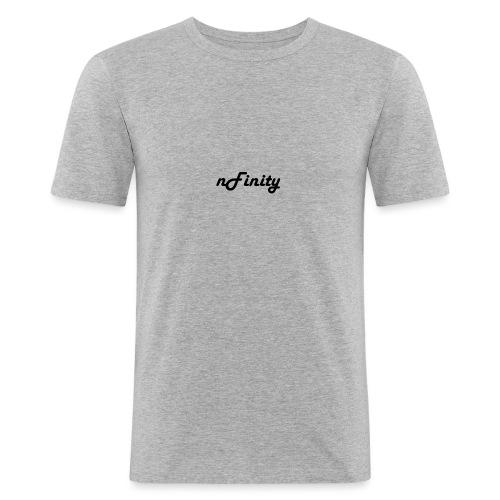 nFinity Tank Top White - Mannen slim fit T-shirt