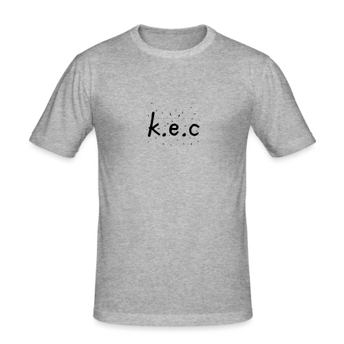K.E.C sports kasket - Herre Slim Fit T-Shirt