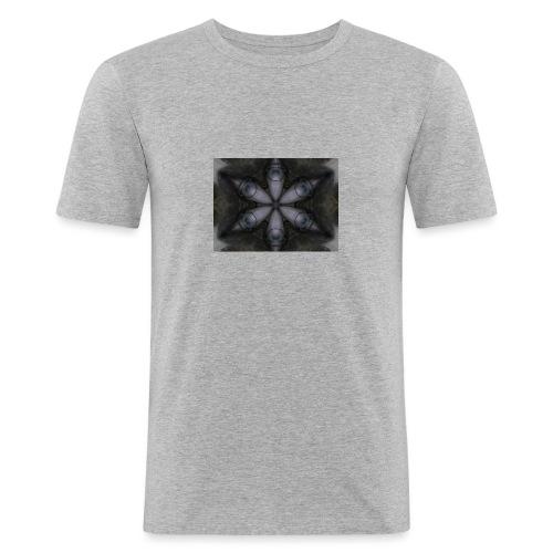 flor hipster - Camiseta ajustada hombre
