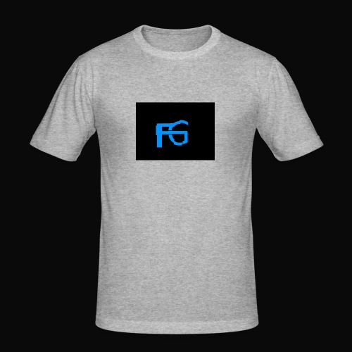 fastgamers - Mannen slim fit T-shirt