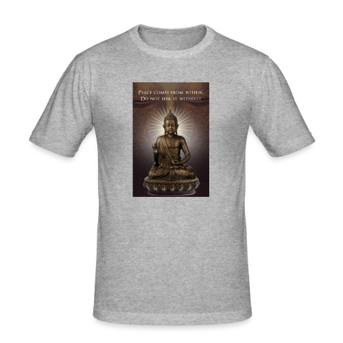 Peace from Within - Men's Slim Fit T-Shirt
