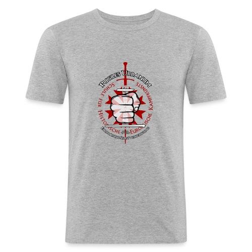 Logo frei PUR mitWa trans - Männer Slim Fit T-Shirt