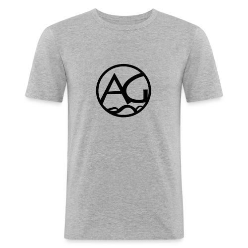 AG - Miesten tyköistuva t-paita