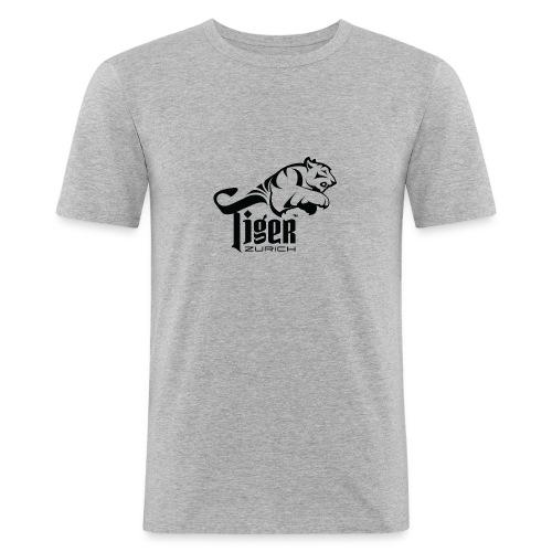 TIGER ZURICH digitaltransfer - Männer Slim Fit T-Shirt