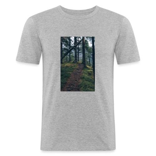 So still wie die Nacht - Männer Slim Fit T-Shirt
