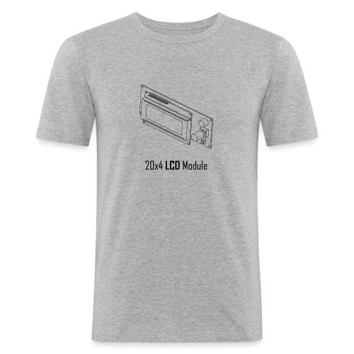 20x4 LCD Module - Men's Slim Fit T-Shirt