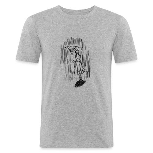 Umbrella - Men's Slim Fit T-Shirt