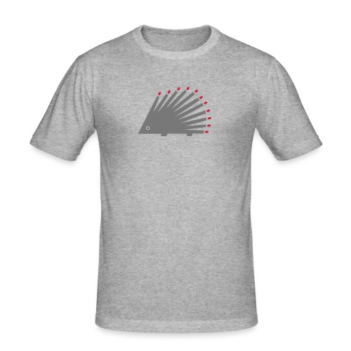 Hedgehog - Men's Slim Fit T-Shirt