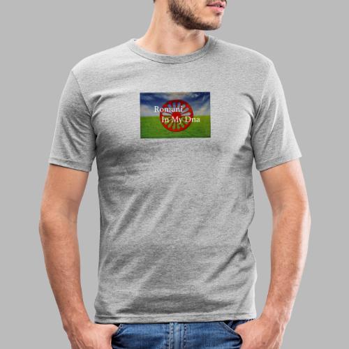flagromaniinmydna - Slim Fit T-shirt herr