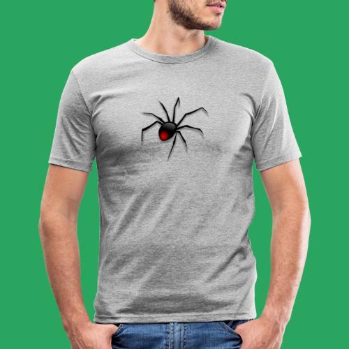 spider logo fantasy - Maglietta aderente da uomo