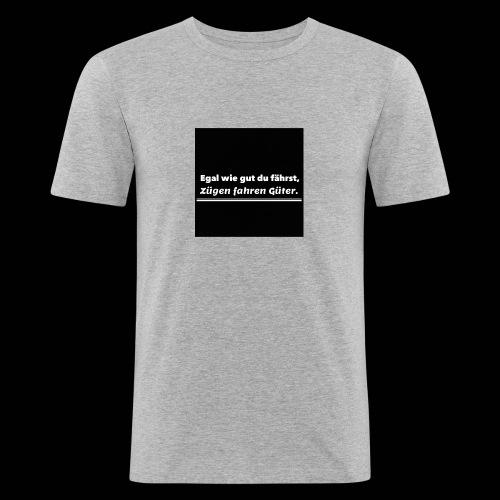 T-Shirt - Mannen slim fit T-shirt