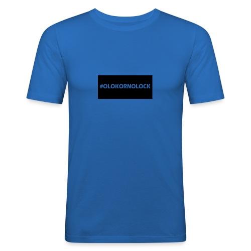 #OLOKORNOLOCK - Slim Fit T-shirt herr