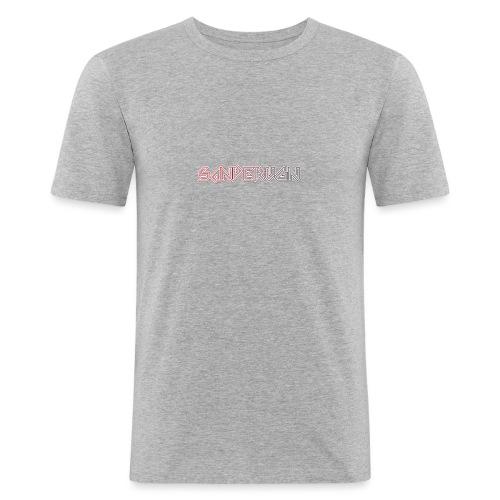 logoshirts - Mannen slim fit T-shirt