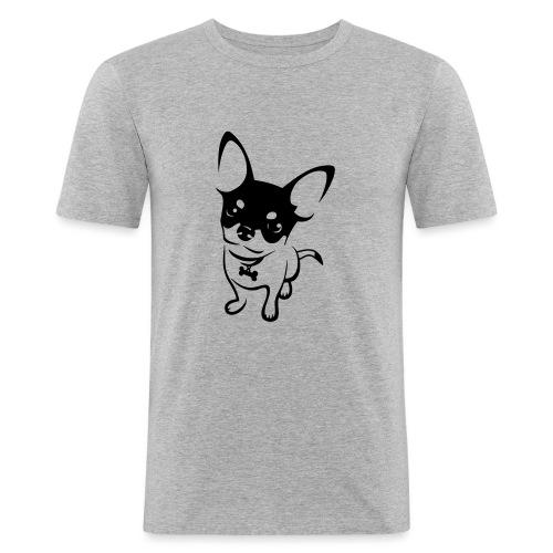 Chihuahua Mok - Mannen slim fit T-shirt