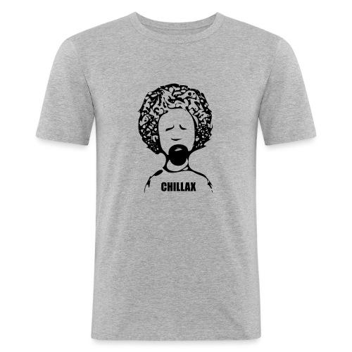 Chillax - Men's Slim Fit T-Shirt