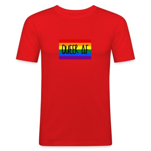 queer af - Männer Slim Fit T-Shirt