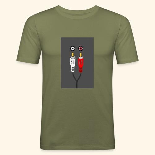 rca cable1 - Maglietta aderente da uomo