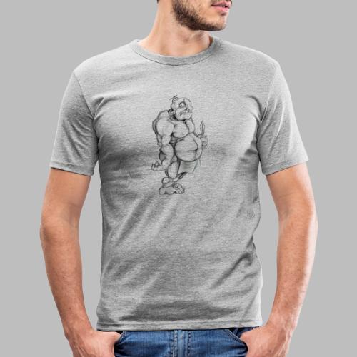 Big man - Männer Slim Fit T-Shirt