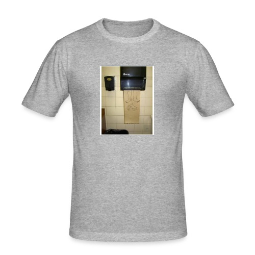 Stuck in the paperholder - Slim Fit T-shirt herr