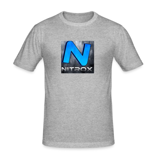 MyOwnDesing - Mannen slim fit T-shirt